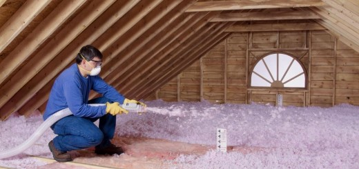 Cellulose insulation for homes