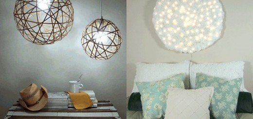 DIY lighting ideas for home