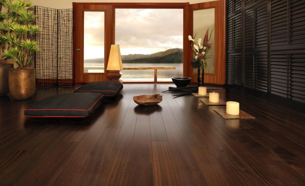 Fixing wood floor swelling at home