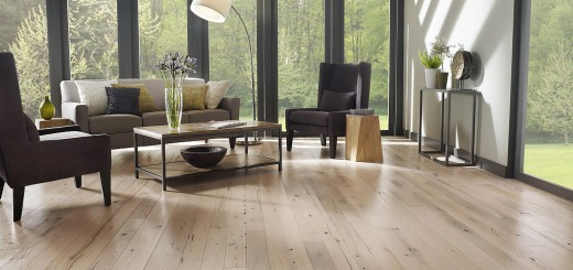 Houses with wood floors vs concrete slab floors