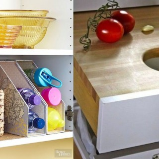 Practical kitchens at home