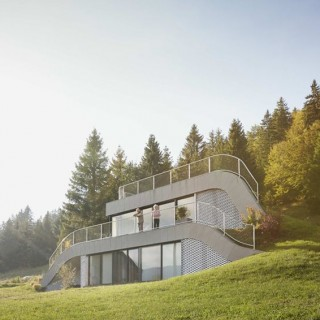 Nature integrated homes archives houz buzz - Houses woods nature integrated ...