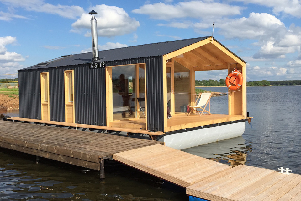 Floating Modular Home Mobile Solutions Russia