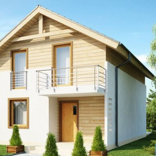Houses with wood clad first floor are elegant