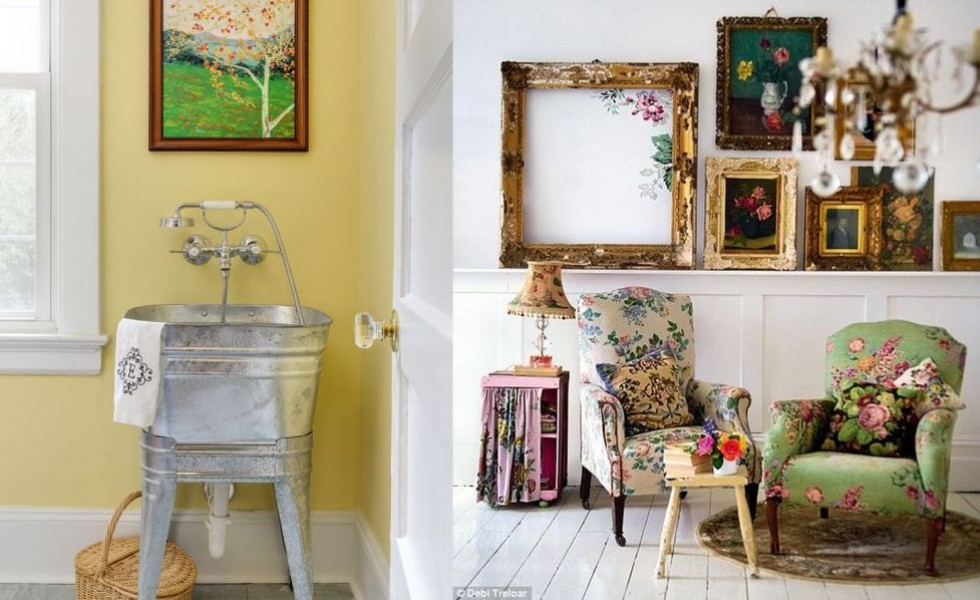 Vintage Decorating Ideas For Home Part - 25: Vintage Style Decor Ideas For Home