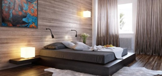 Wooden bedroom designs