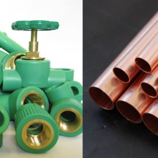 Plastic pipes vs copper pipes archives houz buzz for Copper pipe vs pvc