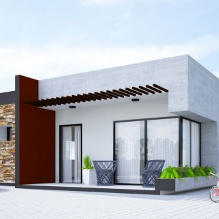 Two bedroom small house plans for all