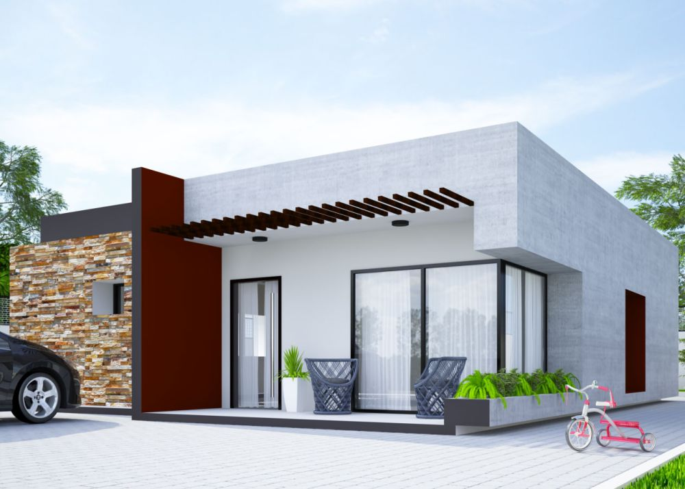 Two bedroom small house plans the ideal structure houz for Ideal home designs