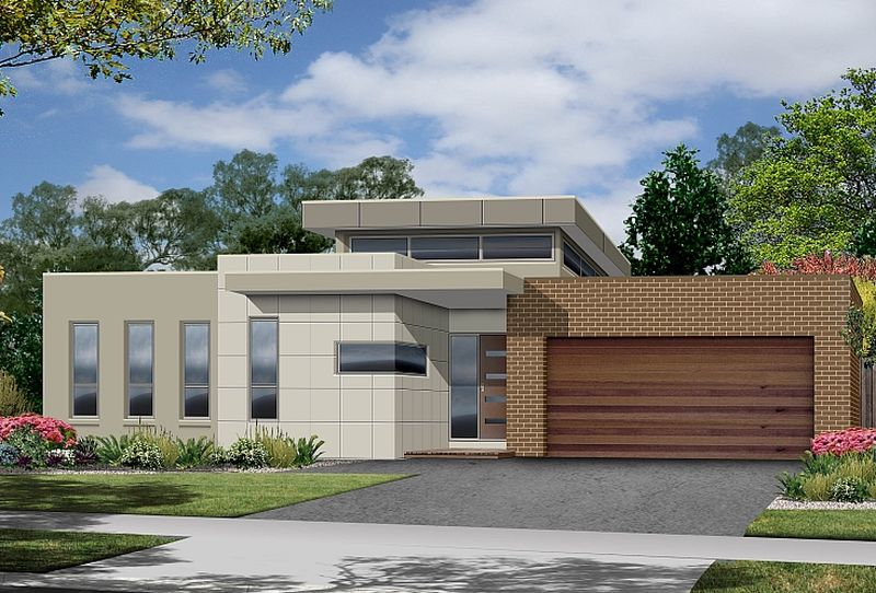 Single level modern house plans open spaces houz buzz - Design case moderne ...