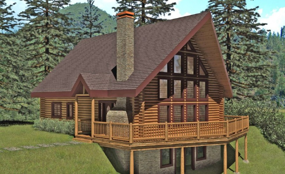 Cheap log houses homes with personality houz buzz for Cute cheap houses
