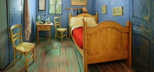 Van Gogh's bedroom in Chicago