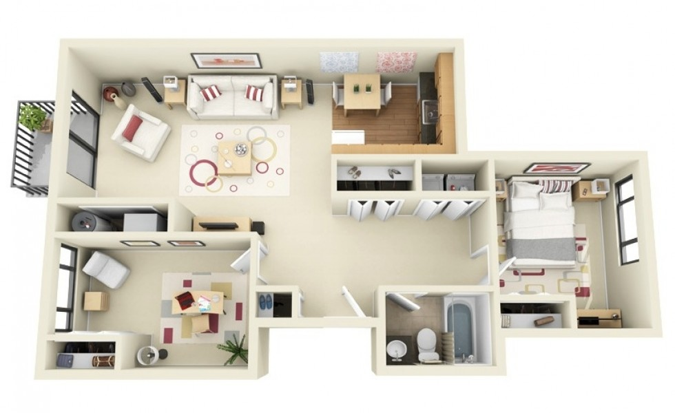 3 room apartment layout ideas houz buzz