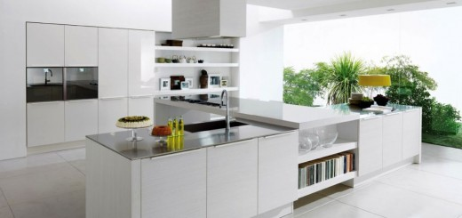 modern appliances in the kitchen