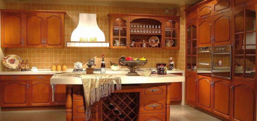 Solid wood kitchen cabinets care tips and design ideas