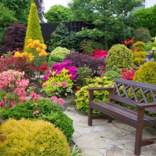 Small garden landscaping ideas archives houz buzz - Japanese style garden furniture brings harmony into your life ...