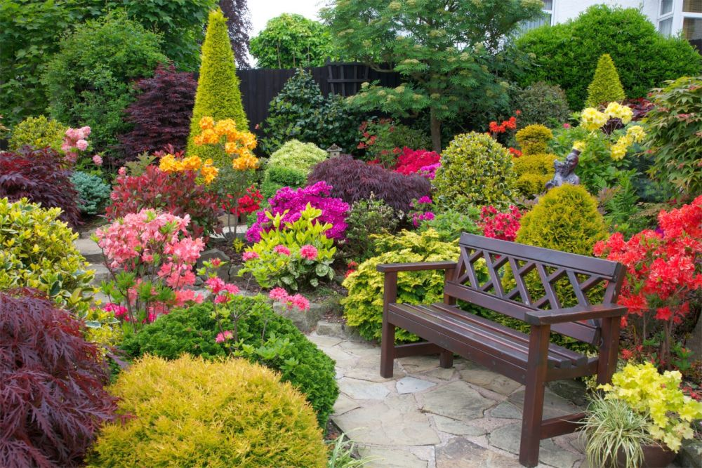 Small Flower Gardens small flower gardens. amazing flower garden with rocks with small