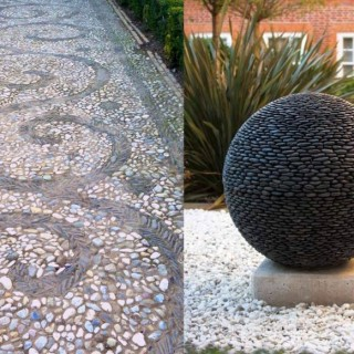 Decorative stone garden landscaping ideas for all