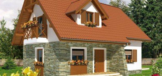 Small attic house plans - Houses atticsquare meters ...