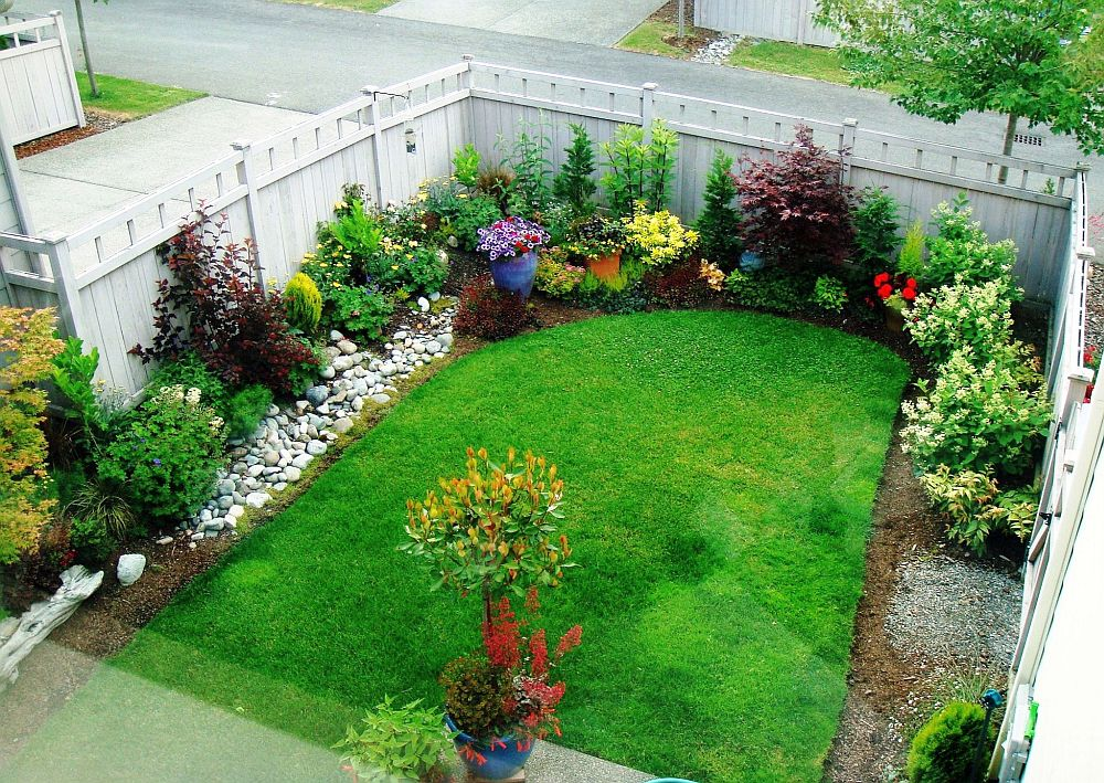 Rectangular Garden Ideas 50 square meter garden design ideas houz buzz workwithnaturefo