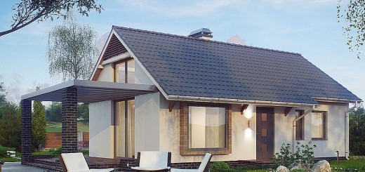 U shaped house plans with courtyard more intimacy - Attic houses undersquare meters ...