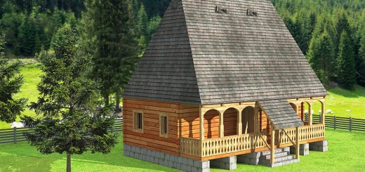 Four room attic house plans plenty of space houz buzz - Theusd tiny house the shortest way to freedom ...