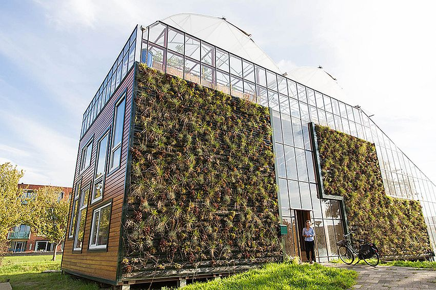 The greenhouse residence in rotterdam living in the future houz buzz - The greenhouse residence in rotterdam ...