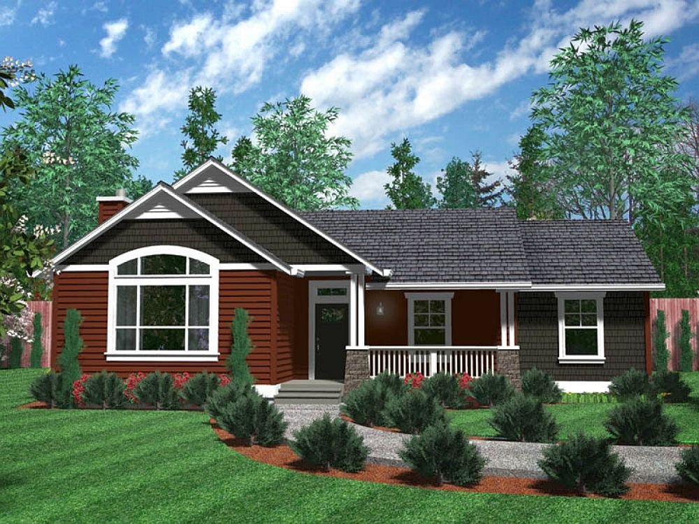 One Level House Plans