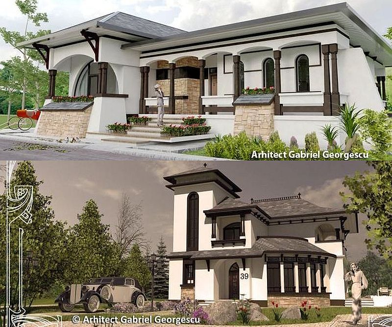Romanian architecture at its best neo romanian style inspired houses houz buzz - Romanian architectural styles ...