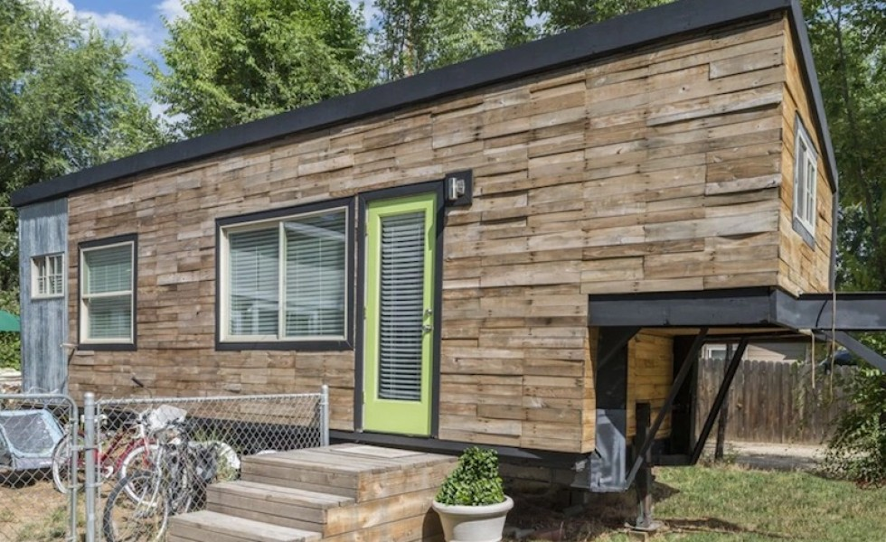 The 18 square meter tiny house houz buzz - Thesquare meter tiny house ...