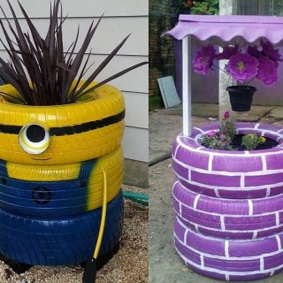 Diy projects using old tires archives houz buzz - Diy projects using old tires ...