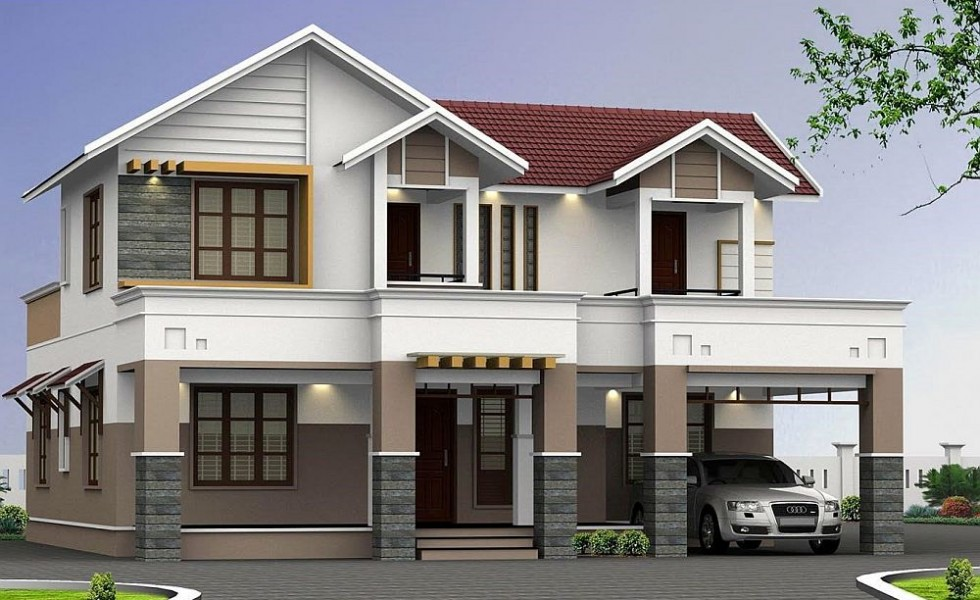 Two story house plans homes for practical families for House for two families