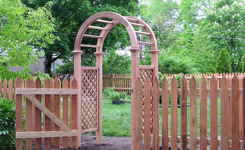 Garden wood arches 15 superb ideas houz buzz for Garden arches designs