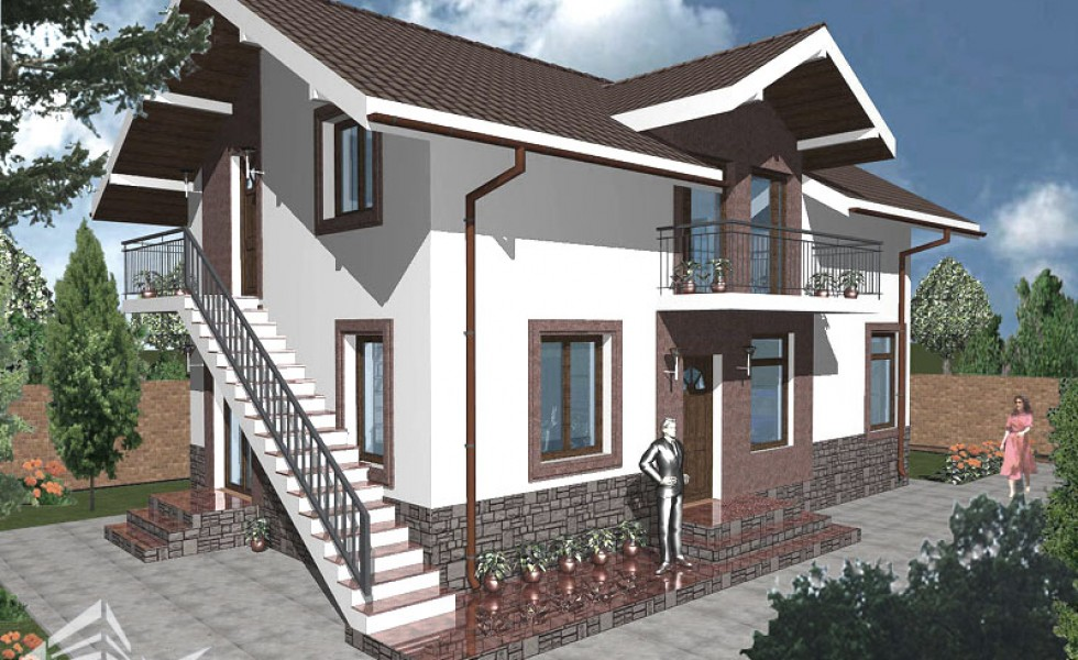 Attic houses with exterior stairs independent spaces houz buzz - Attic houses with exterior stairs ...