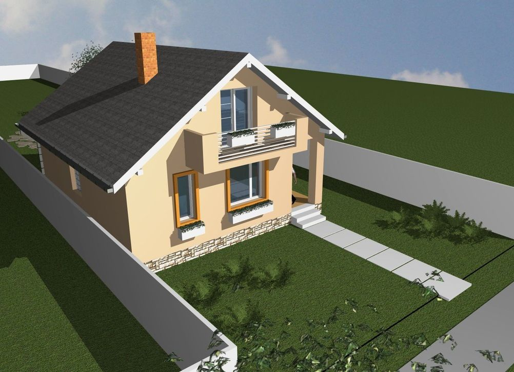 60 square meter house plans optimized spaces houz buzz for Home design 84 square metres