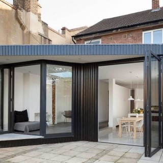 Minimalist london home extension archives houz buzz for Minimalist house london