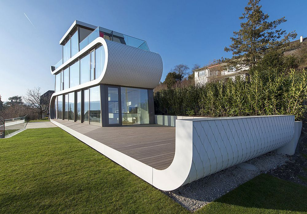 The flex house fluid design from switzerland houz buzz - The flex house ...