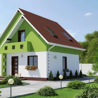Small houses archives houz buzz - Simple mansard roof houses beautiful practical without taking much space ...