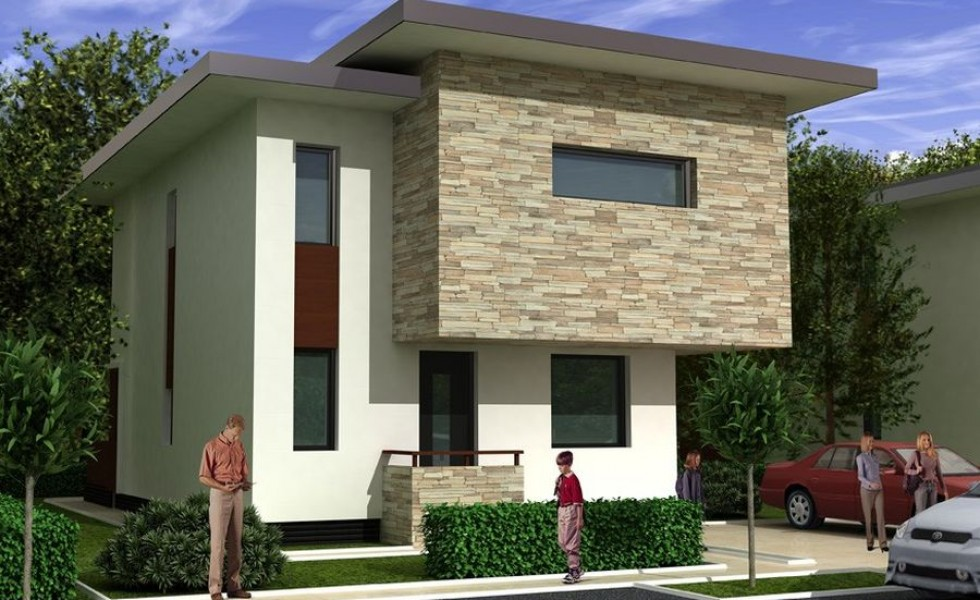 we have lately insisted on both single floor and respectively attic houses taking advantage of the growing appetite for homes with small living areas - Two Story Houses Pictures