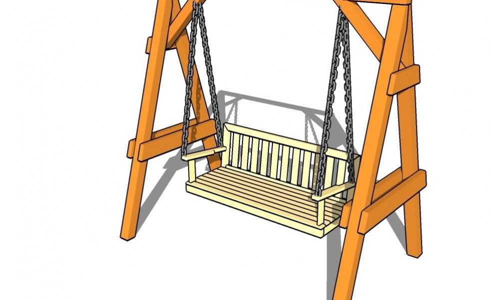 How To Build A Garden Swing Seat In A Few Easy Steps Houz Buzz