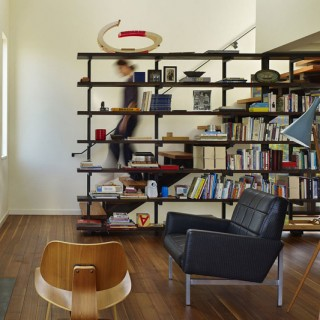 Staircases with integrated bookshelves archives houz buzz - Staircases with integrated bookshelves ...