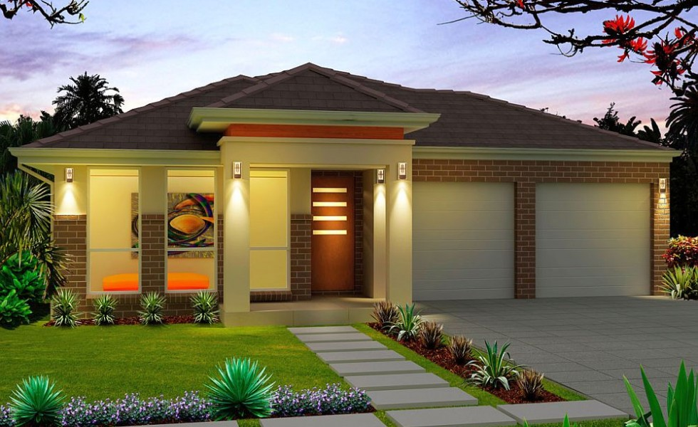 Two bedroom single story house plans houz buzz for One story two bedroom house plans