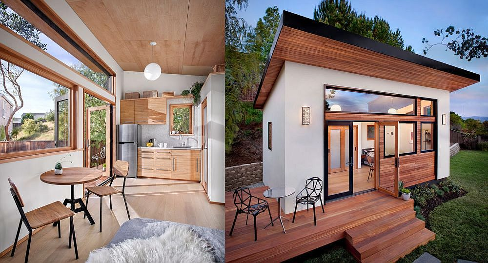 The tiny house on 24 square meters houz buzz - House and garden onsquare meters ...