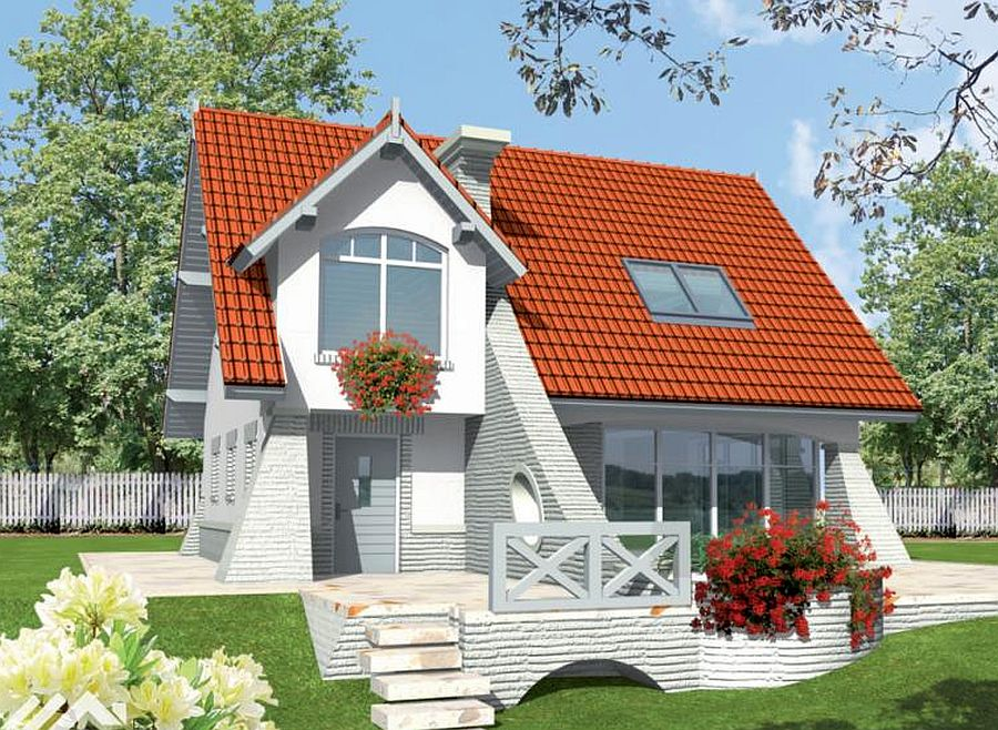 3 medium sized loft houses more space houz buzz - Beautiful attic house projects striking the perfect balance ...