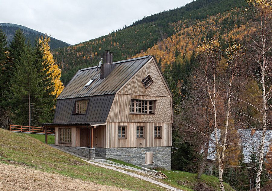 The dancing chalet aesthetic and practical design houz buzz - The dancing chalet ...
