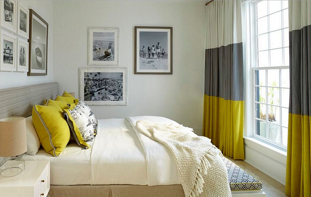 15 Modern Bedroom Curtains And Drapes - Houz Buzz