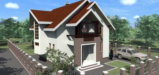 Colors for a modern home vibrant interiors houz buzz - Simple mansard roof houses beautiful practical without taking much space ...