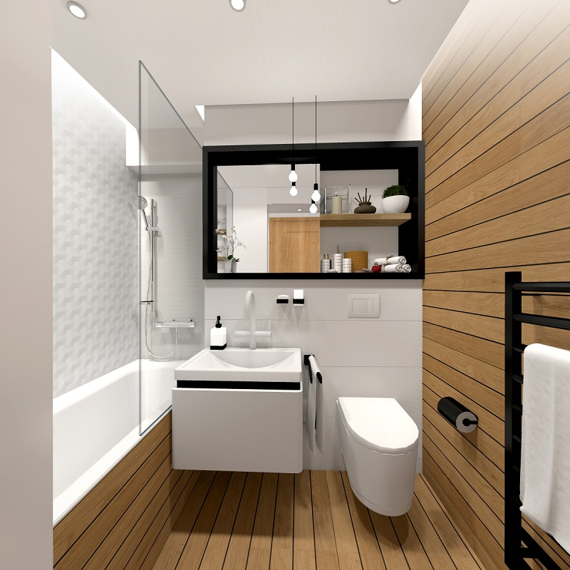 Design Ideas For Small Bathrooms Efficiency And Comfort