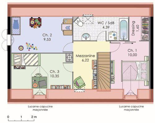 Plan De Dressing Fabulous Plan De Maison Au Senegal With Plan De