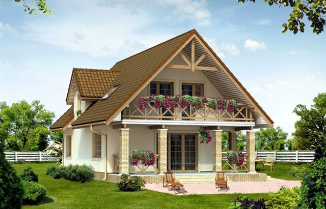 Romanian House Plans with Attic. Beautiful Homes for Any Family Size